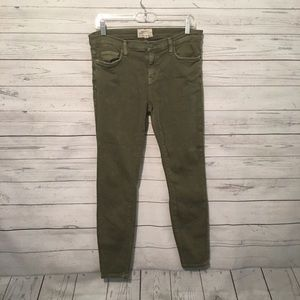 current/elliott Olive The Stiletto Skinny Jeans